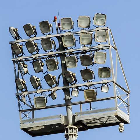 ระบบไฟฟ้าลานเอนกประสงค์
